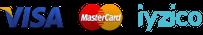 visa iyzico logoları